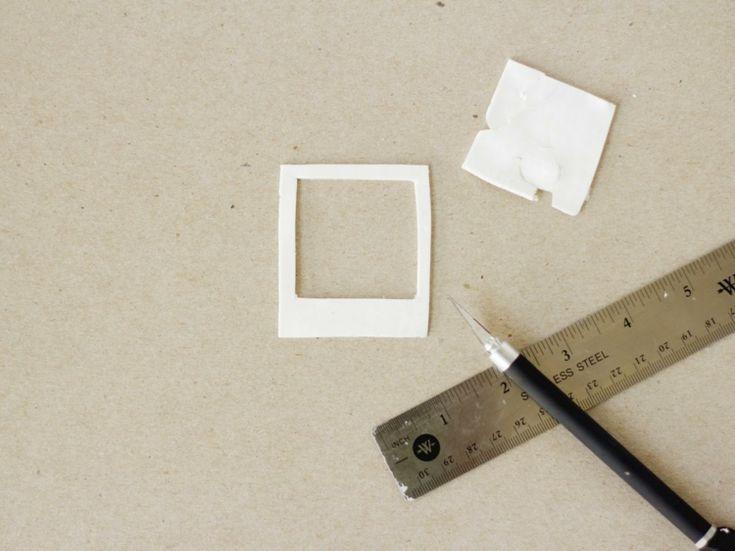 Popular polaroid fotos deko rahmen basteln kuehlschrank gestalten