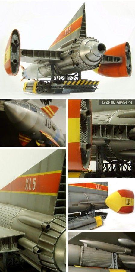 Scratchbuilding Gerry Anderson's Fireball XL5