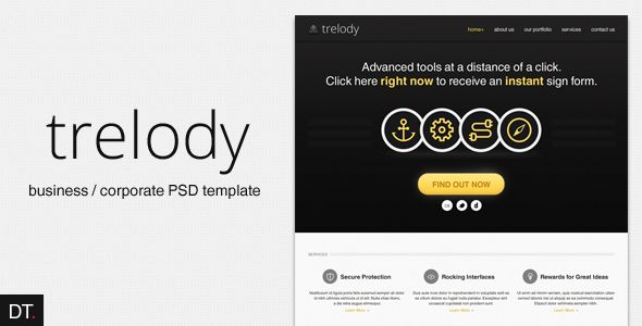 Deals Trelody - Business/Portfolio PSD TemplateWe provide you all shopping site and all informations in our go to store link. You will see low prices on