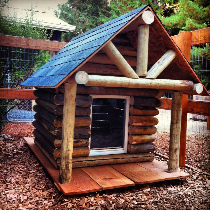 Pet Friendly Flooring Options For Cat And Dog Owners: Log Cabin...rustic...just Take A Few Logs Off To Be