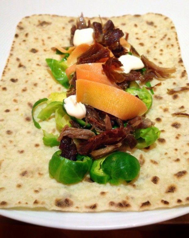 Pulled pinnekjøtt | Oliven & SjokoladeOliven & Sjokolade