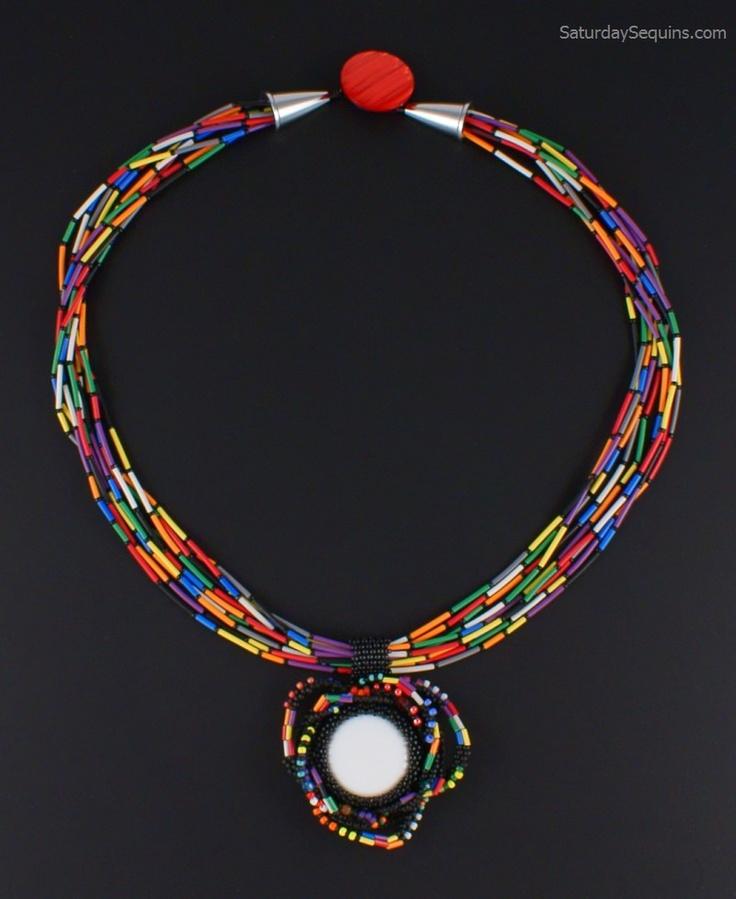 383 best Ideas -Necklace 2 images on Pinterest | Bead necklaces ...