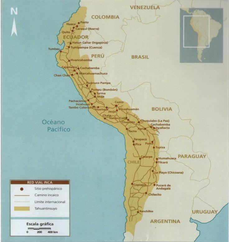 El sistema vial estuvo constituido por el camino inca o Cápac Ñam que fue una red de caminos que cruzaba todo el Tahuantinsuyo.