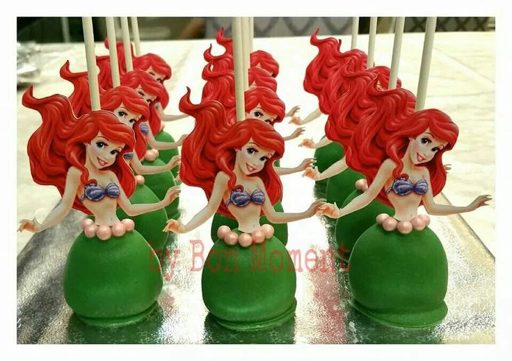 Little Mermaid Cake Pop