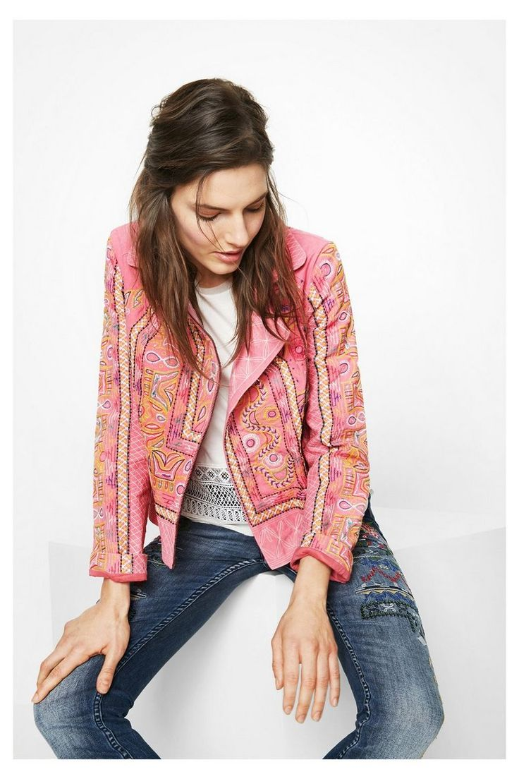 Jacket Florencia Desigual. Discover the spring-summer 2017 collection!