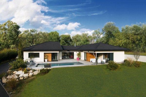 Les 25 meilleures id es de la cat gorie toiture en tuile sur pinterest tuile en verre baies for Maison moderne menuiserie blanche