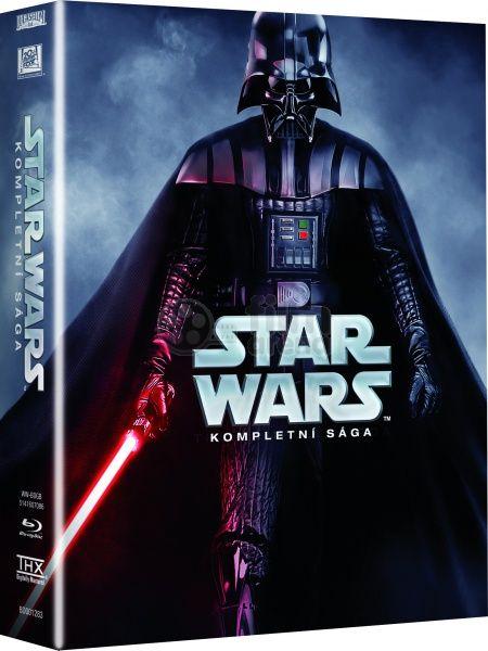 Blu-ray kolekce STAR WARS 1-6 Kompletní sága 9BD, Star Wars Blue ray. První Hvězdné války byly jedinečné díky svým speciáním efektům. Režisér George Lucas díky nim založil zcela novou trikařskou společnost, Industrial Light and Magic.