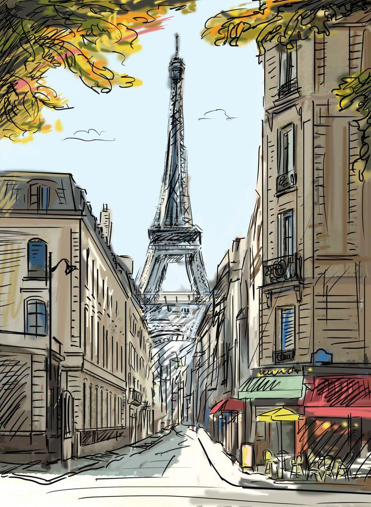 картинки нарисованые города его будет мотивировать