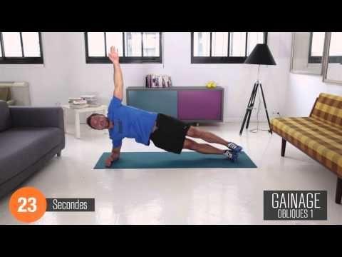 Le gainage pour un corps de rêve en 6 minutes chrono ! - YouTube