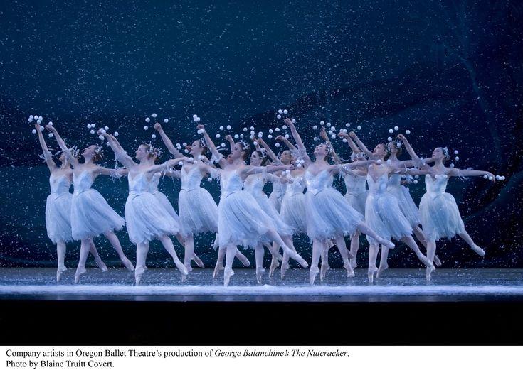 Waltz of the snowflakes Oregon Ballet Theatre: my favorite part in the Nutcracker.