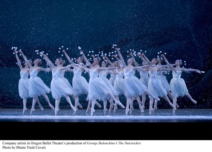 Waltz of the snowflakes Oregon Ballet Theatre: my favorite part in the Nutcracker.