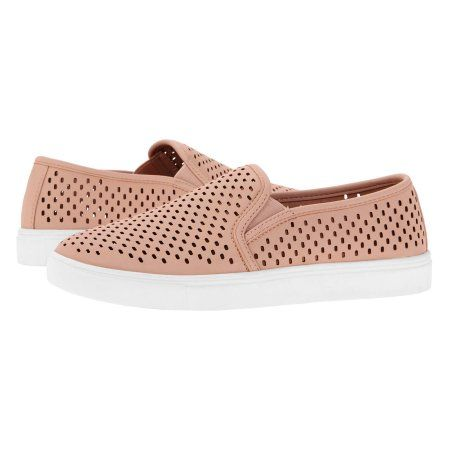569f7cbc7d74 Time and Tru Women s Perforated Twin Gore Slip-On Sneaker at Walmart.com