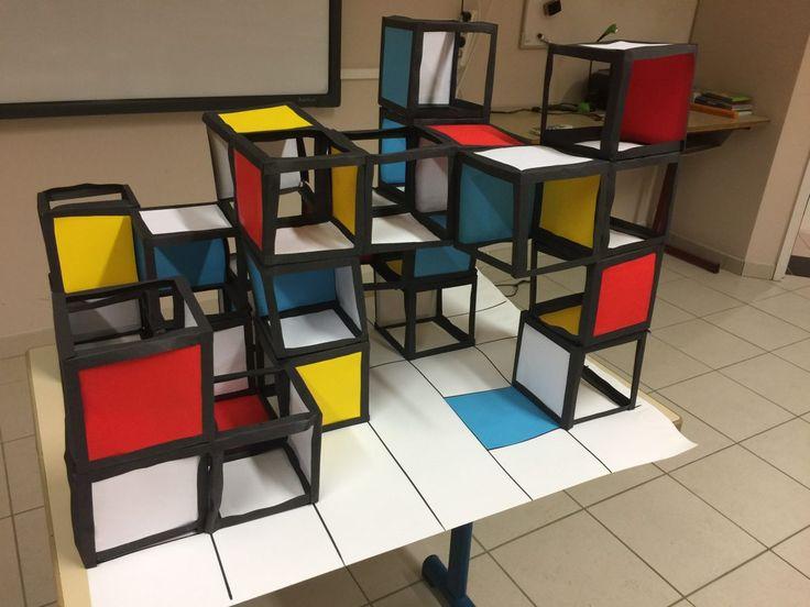 Mondrian en three D (CM1-CM2