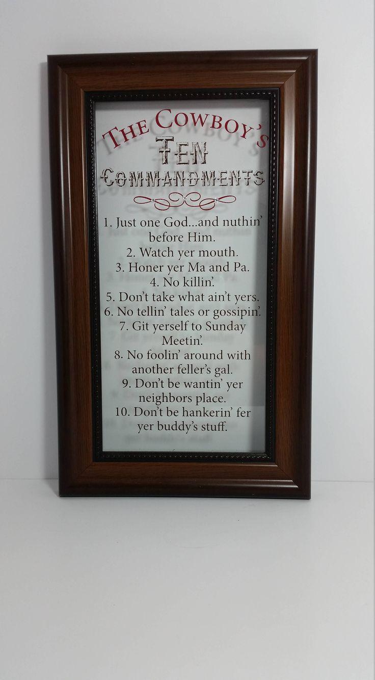Ten Commandments List