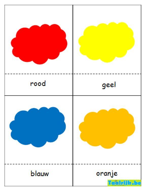 Flitskaarten thema kleuren; kleuren oefenen met anderstalige nieuwkomers en leerlingen adhv leuke spelletjes.