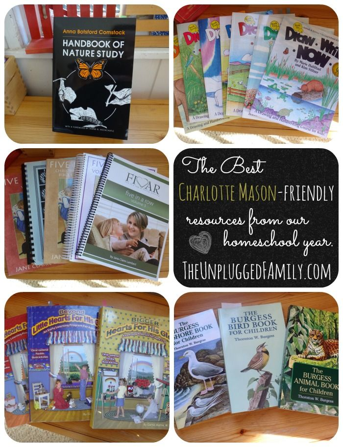 "NaturExplorers is included on this list of ""The Best Charlotte Mason-friendly Resources from Our Homeschool Year"" at The Unplugged Family"