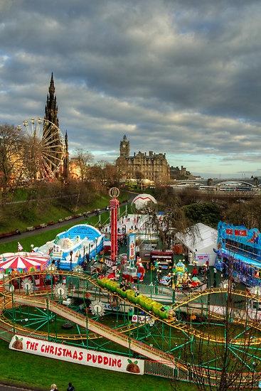 Winter Wonderland ,Edinburgh,Scotland