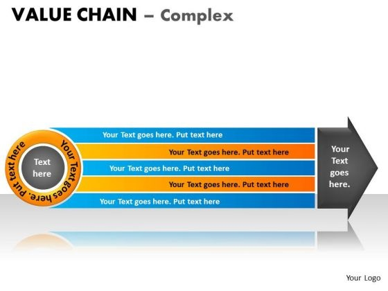 PowerPoint Layout Sales Value Chain Ppt Design