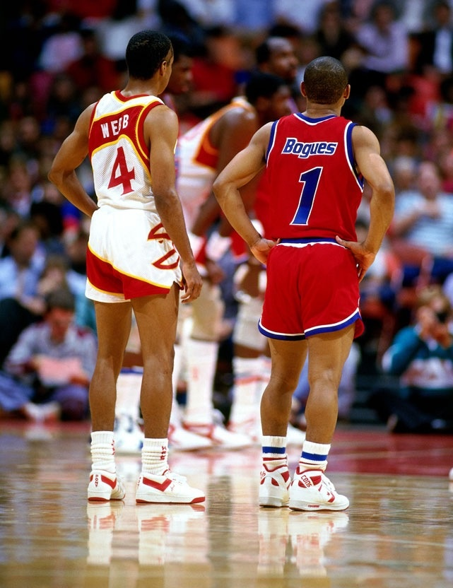 Mugsy Bogues and Spud Webb, 2 of my all time favorites!  They are also ACC guys!