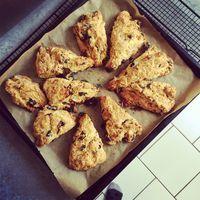 Julia Ziegler-Haynes' Prune and Caraway Scones - The Wednesday Chef