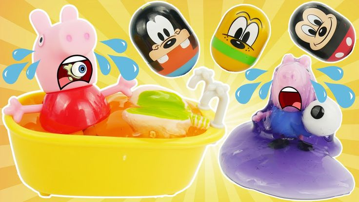"Peppa Pig and Mickey Mouse Clubhouse Friends Rolling Toys Set Pluto Goofy Mashems Playdoh and Slime!  Here's how Mickey is called in other languages: ""La Casa de Mickey Mouse"" ""Clubul lui Mickey Mouse"" ""La Maison de Mickey"" y ""Micky Maus Wunderhaus"" ""La casa di Topolino"" ""A Casa de Mickey Mouse"" ""будинок Міккі Мауса"" ""ミッキーマウス クラブハウス"" ""Mickey Mousekersize"" ""Micky Maus Wunderhaus Spielplatz"" ""L'allegra casa di Topolino"" y ""Speeltuin Clubhuis"" ""το σπίτι του Μίκυ Μάους"" ""дом Микки Мауса"" ""미키…"