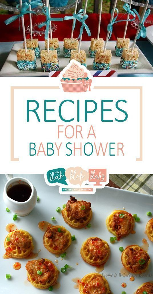 Recipes For A Baby Shower Baby Shower Recipes Recipes For A Baby