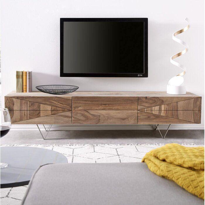 Union Rustic Tv Lowboard Emilio Bewertungen Wayfair De Lowboard Tv Lowboard Tv Mobel Holz