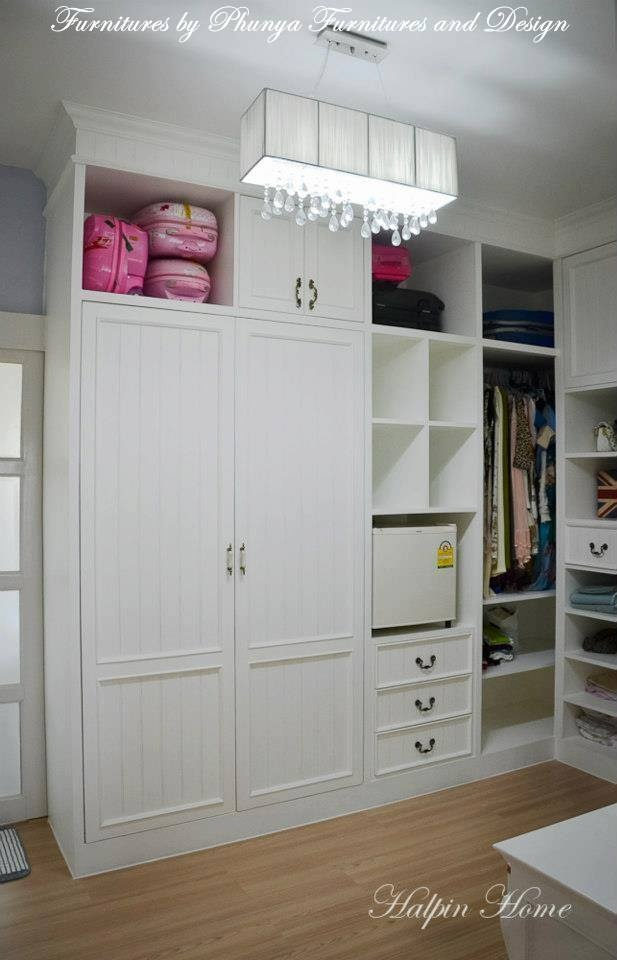 Simply Closet, Built In By Phunya Furnitures And Design / Chiangmai  Thailand Https:/