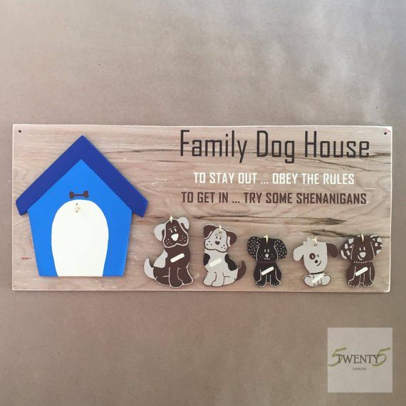 Dog Sign Wood Sign Wood Dog Sign Dog House Wood Sign Dog S