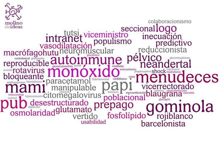 Gominola, logo, pochar: las palabras que la RAE no admite | Cometario