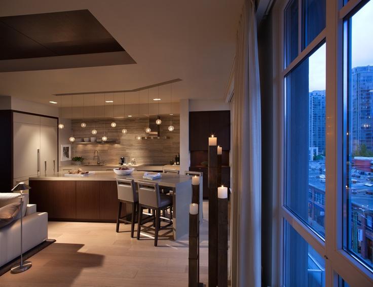 26 Best  Pg  Penthouse Kitchen Design Images On Pinterest  Grey Gorgeous Kitchen Designer Vancouver Decorating Design