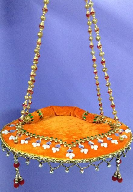 Krishna Jhula Design - Janmashtami Decoration Ideas super sweet soft ...
