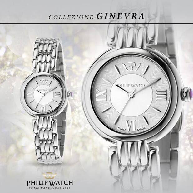 L'orologio della collezione Ginevra è ispirato ai modelli del passato abbinato alle più moderne prestazioni, senza dimenticare un tocco glam di femminilità. Cassa con quadrante guilloché, indici a goccia applicati e bracciale gioielleria in acciaio. #ParrottaGioielli #beloved #siderno