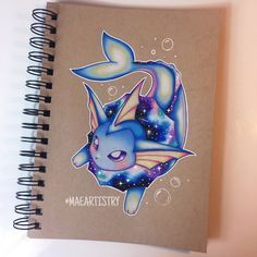 Hey guys! Here's Vaporeon. Will be working Flareon after  ________ ‣ instagram.com/maeartistry ‣ facebook.com/marilynmaeart ‣ twitter.com/maeartistry ‣ maeartistry.tumblr.com