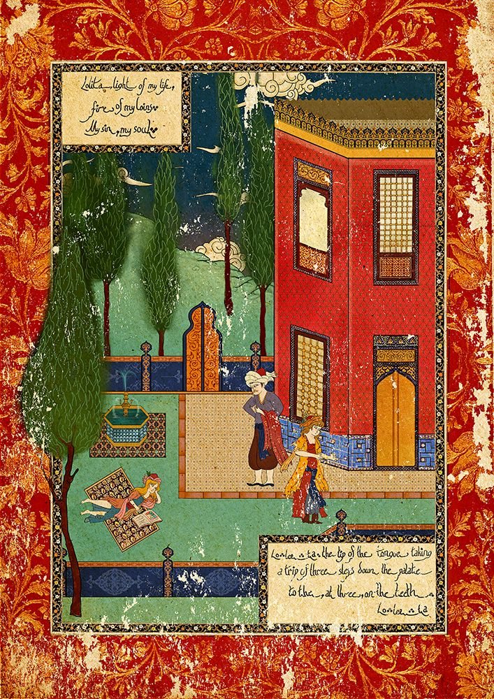Incarnated By Words on Behance - Lolita by Murat Palta