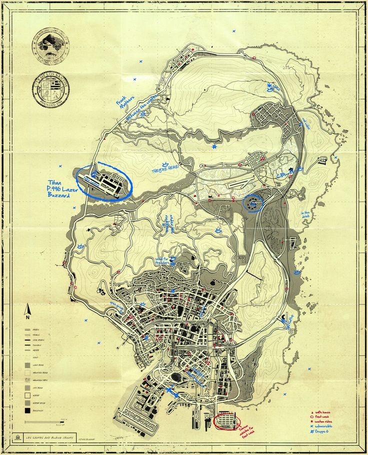 GTA V T.P.E Blueprint Map Secrets - Gamerspective