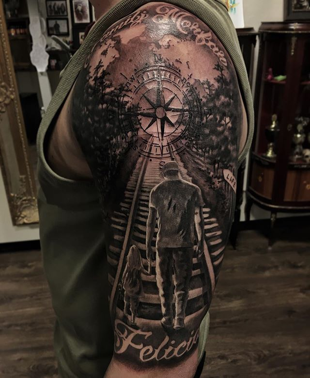 #Tattoo by #TattoocynProTeam artist Marcus Körling @FunnyFarm Artists and studios - http://ift.tt/2bRIKwK Buy your Tattoocyn aftercare products here: www.loveyourink.com Latest post from our Instagram Account @tattoocyn