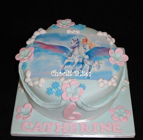 Catherine's 6th birthday cake