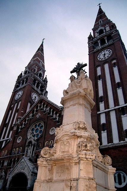 Szeged basilica by Gergely22, via Flickr