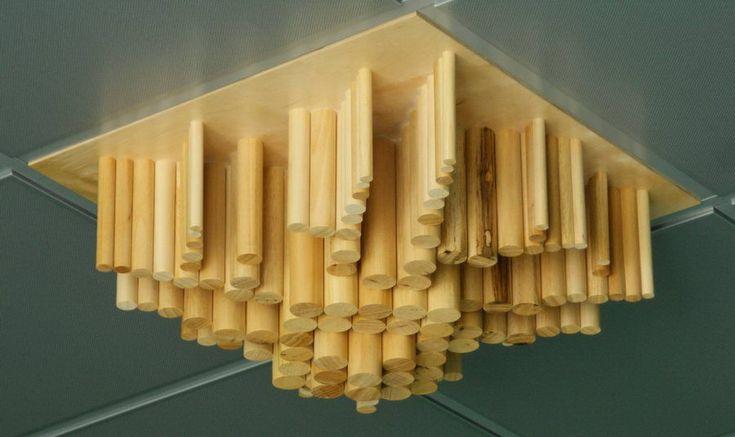 Pannelli acustici diffrattori ACUSTICO® in legno serie W-Fractor