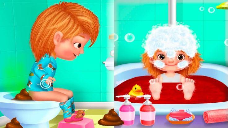 Мультик про школу Катя идет в школу Купается в ванне Веселье в парке Сме...