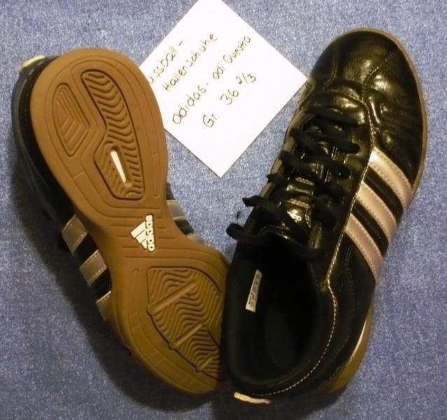 Sportschuhe – Fussballschuhe Adidas – Hallenschuhe adi Questra, Größe 36  2/3