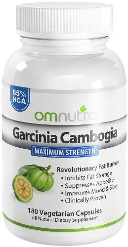 Pure Garcinia Cambogia Extract 65% HCA in Ultra Premium Hydroxycitric Acid Supplement with Calcium Plus Potassium – Appetite Suppressant Belly Fat Burner Diet Pills for Men Women to Lose Weight Fast – Dr Oz Recommended Weight Loss Products That Work!