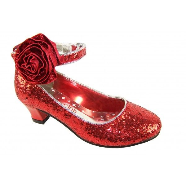 Girls red glitter shoes. Size Good condition. TOMS Red Sparkle Glitter Shoe for Baby Girl Size 2