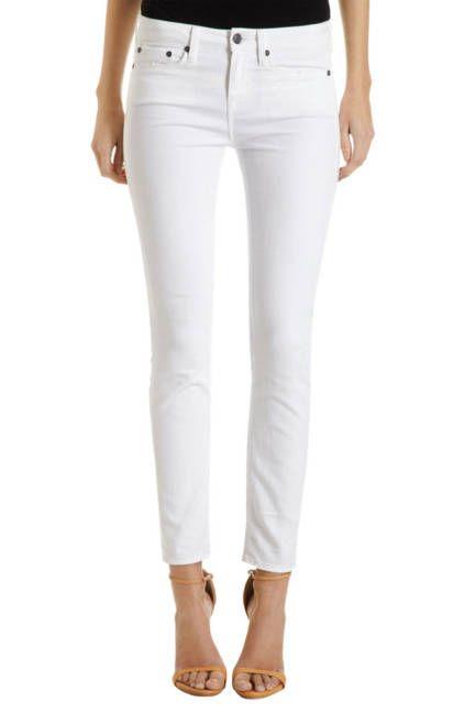 White Jeans for Women - Designer White Jeans Denim - ELLE