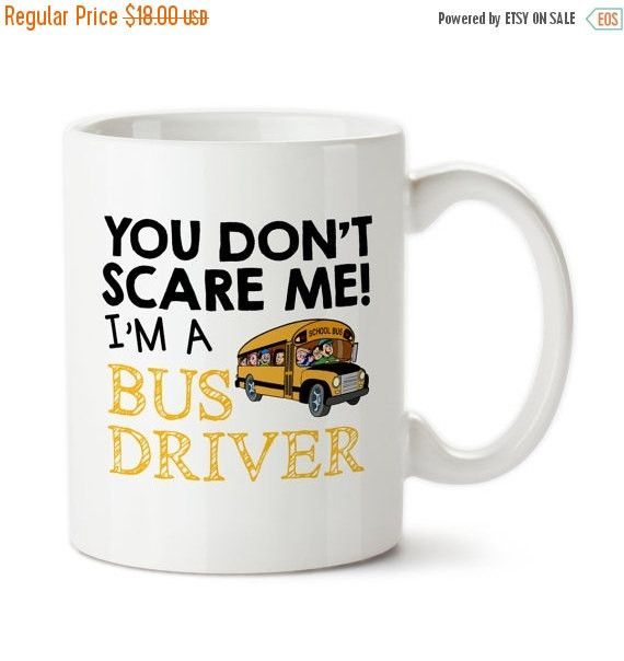 Bus Driver Coffee Cups