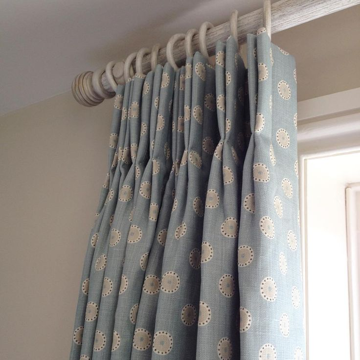 Gorgeous curtains in @vanessa_arbuthnott_fabrics Pretty Maids fitted today , headboards in Nordic Stripe