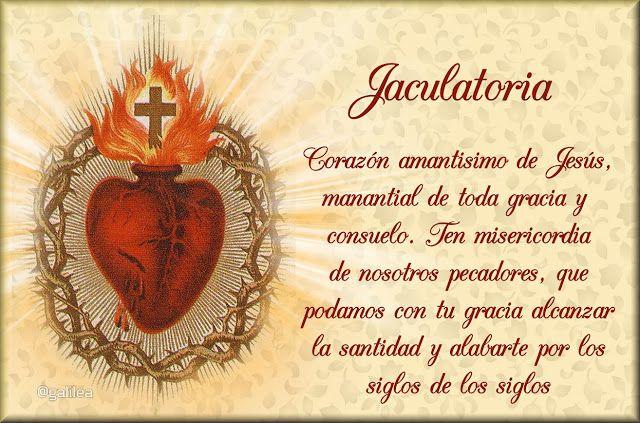 GIFS : ESTAMPAS CON ORACIONES AL SAGRADO CORAZÓN DE JESÚS...