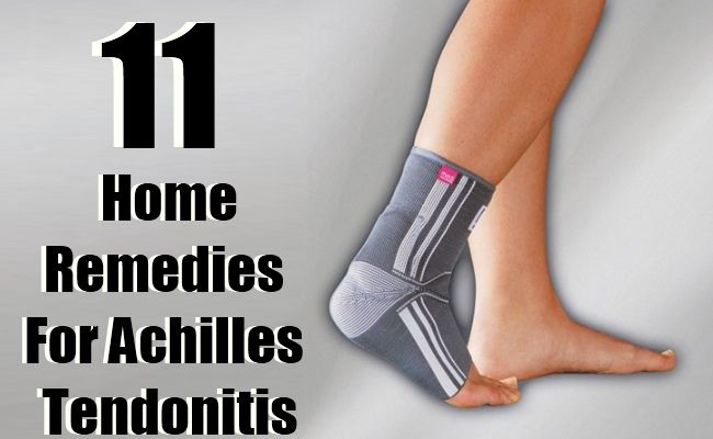 Natural Remedies For Achilles Tendonitis