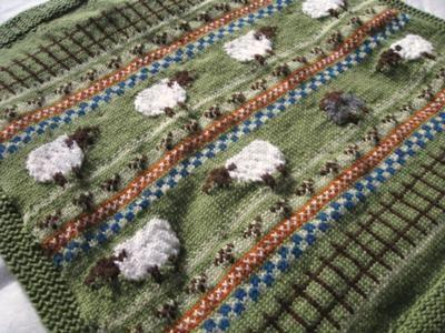Fair Isle Crochet Afghan Pattern ~ manet for .